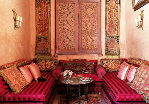 Moroccan Furniture Decorating Fabrics And Materials For Moroccan