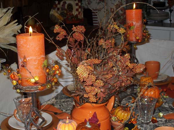 chair covers craft ideas pads for wood floors fall holiday decorations, warm thankgiving table decoration