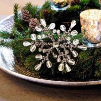 New Years Eve Party Table centerpieces, Inventive Winter