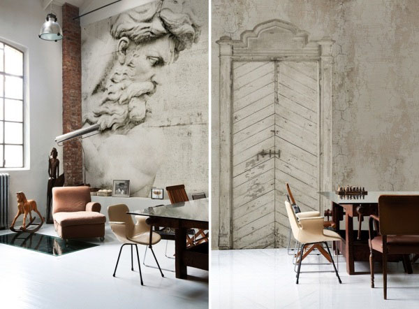 Latest Wallpapers from Italian WallDeco Modern Wall Decorating Ideas