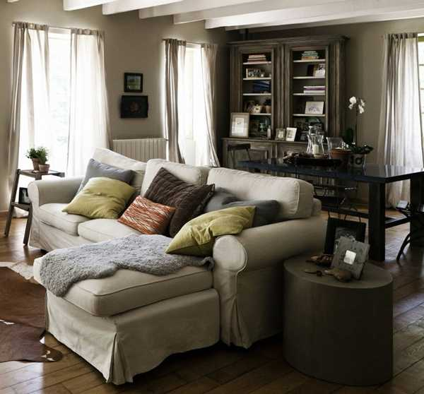 modern country living room decorating ideas Country Style Decor Ideas Mixing Modern Comfort and Unique