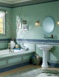 30 Modern Bathroom Decor Ideas, Blue Bathroom Colors and ...