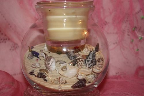 seashell table centerpiece ideas and sea shell crafts
