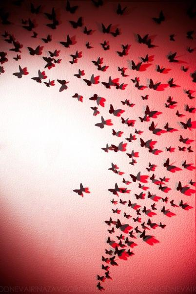 We may earn commission on some of the items you choose to buy. Handmade Butterflies Decorations on Walls, Paper Craft Ideas