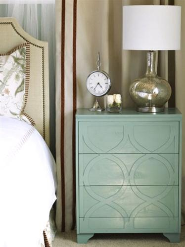 Beautiful Bedroom Decorating Ideas with Hand Painted Furniture Designs