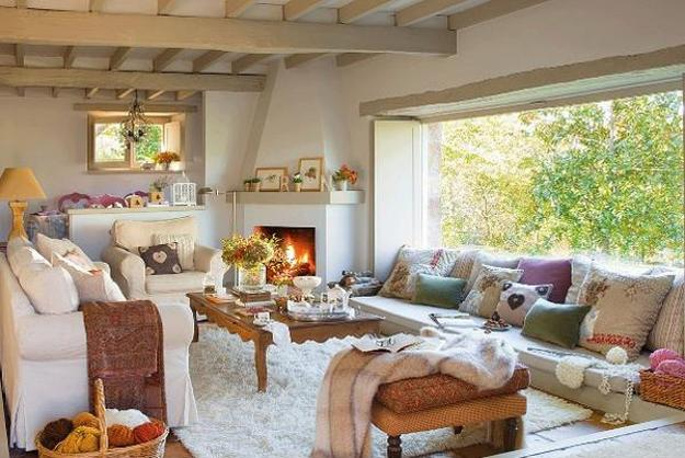 Cottage Style Decor And Outdoor Home Decorating Ideas Brightening