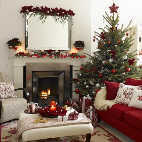 Merry Christmas Decorating Ideas for Living Rooms and
