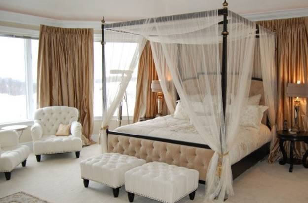 Canopy Bed Designs Adding Romance to Modern Bedroom Decorating Ideas