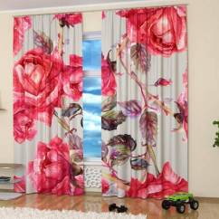 Colorful Kitchen Accessories Glass Backsplash 15 Window Curtains With Art Prints Of Beautiful ...