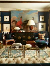 Creative Interior Decorating with Check Patterns in ...