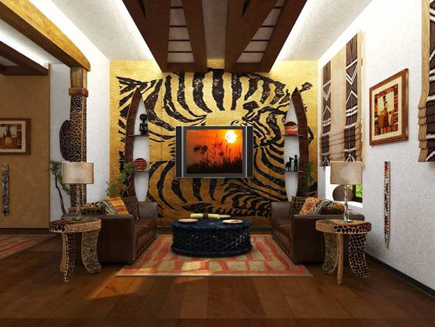 21 African Decorating Ideas For Modern Homes