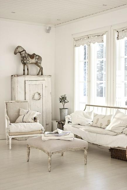 french country sofa fabric sectional sofas under 300 dollars beautiful flowers and shabby chic ideas for white living ...