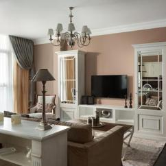 Light Pink Living Room Ideas App Classic Style Adding Chic Look To Cozy Apartment, Interior ...