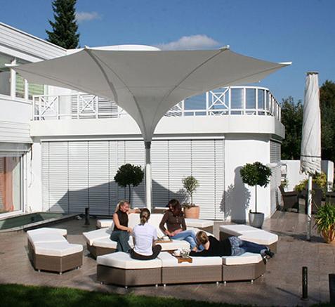 Sombrillas para terrazas de mdt - Sombrilla de terraza ...