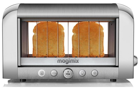 magimix1 Tostadora que permite ver las tostadas en todo momento