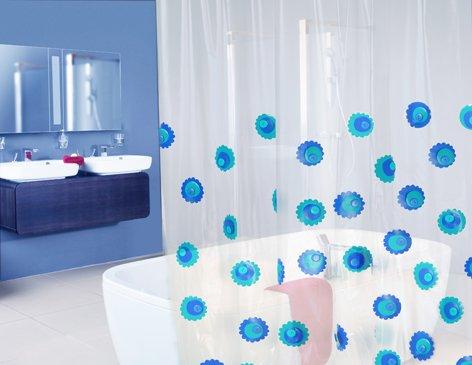 Cmo decorar las cortinas del bao