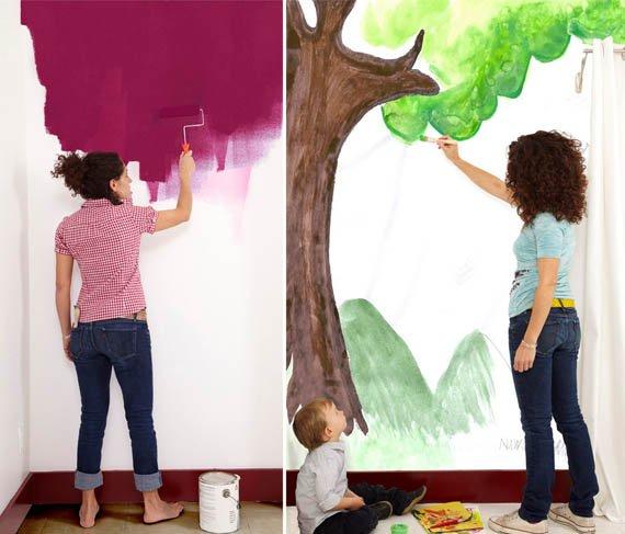 Papel para pintar paredes