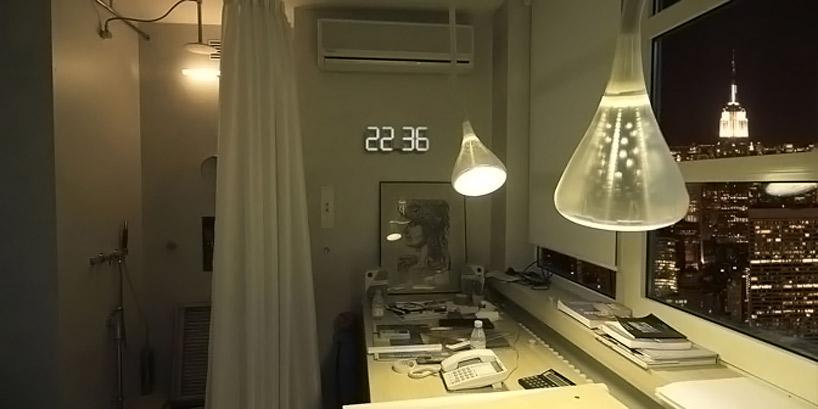 Reloj de pared digital