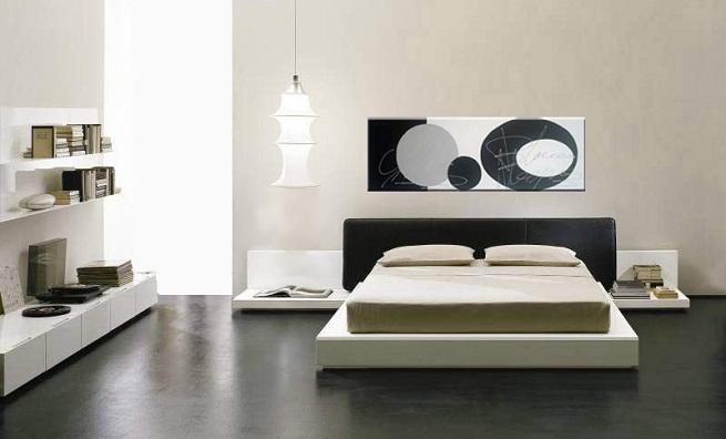 Decorar un dormitorio de color negro
