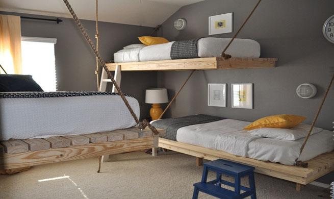 Como Hacer Un Altillo De Madera Trendy Dormitorios En El