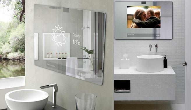 Espejos inteligentes para el cuarto de bao