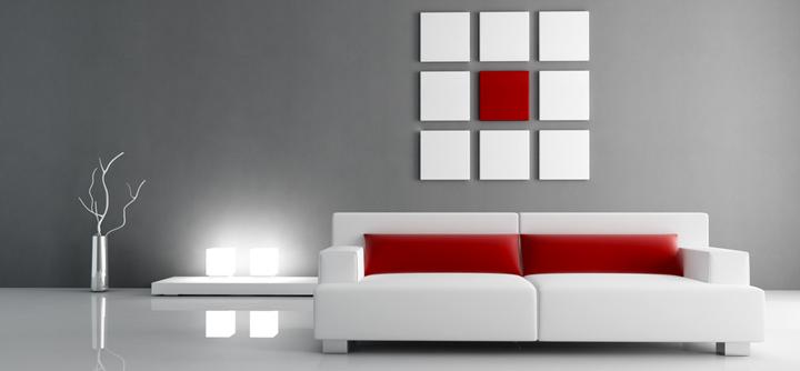 Los colores ms utilizados para pintar paredes
