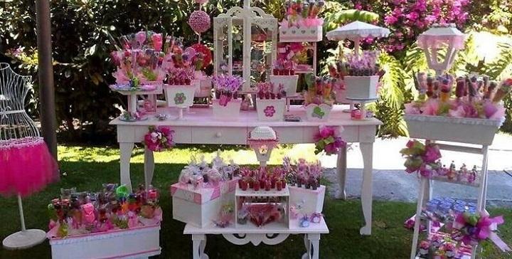 C mo decorar una mesa de dulces - Temas mobiliario ...