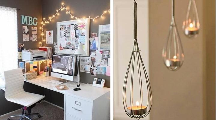 Ideas ingeniosas y baratas para decorar