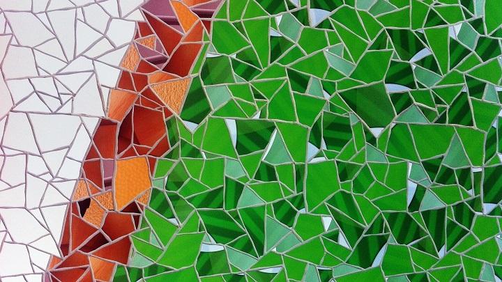 Cmo hacer mosaicos de azulejos rotos