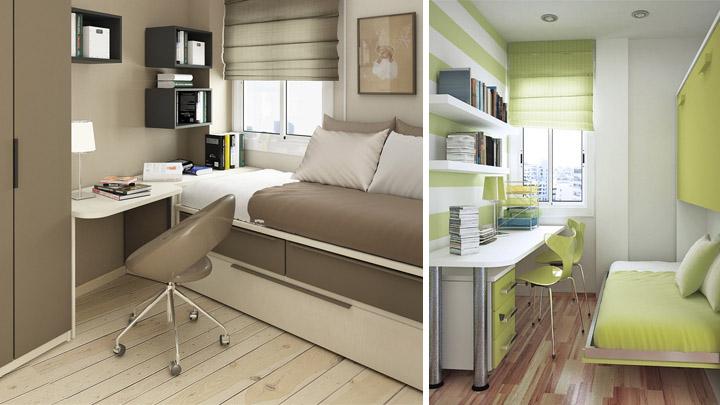 Ideas para habitaciones mini