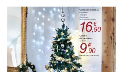 Adornos de Navidad Carrefour 2015