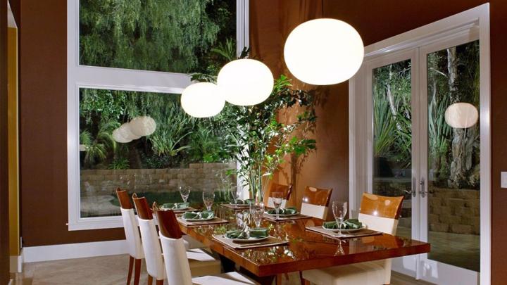 Las mejores lmparas y luces para el comedor