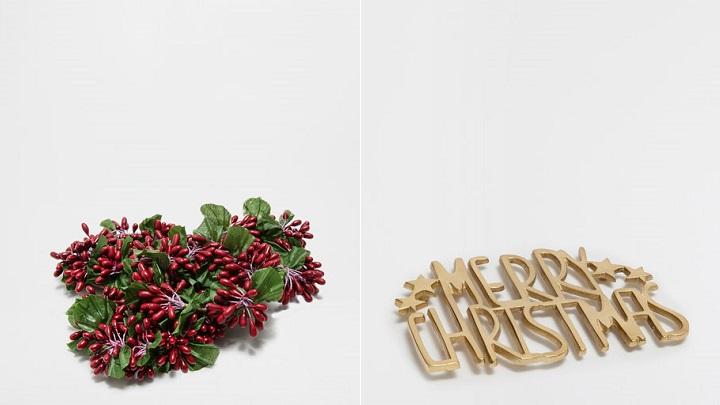 Mesas de Navidad Zara Home 2016