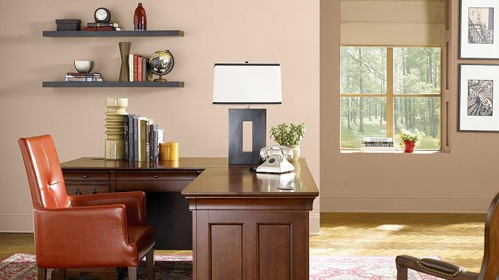 Colores recomendables para pintar una oficina