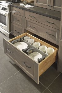 Drawer Dividers and Plate Holders - Decora Cabinetry