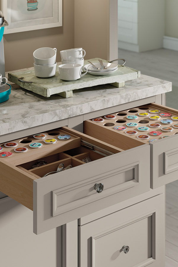 KCup Storage Drawer  Decora Cabinetry