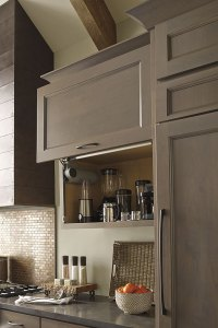 Vertical Lift Cabinet Door Hinge - Decora Cabinetry
