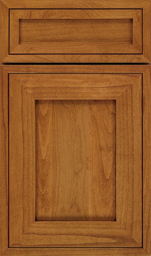 kitchen cabinet door contemporary cabinets chicago airedale shaker style decora 5 piece alder in wheatfield with bronze glaze zoom