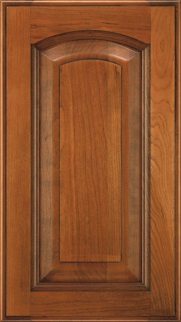 Kingston Raised Panel Arch Cabinet Door  Decora