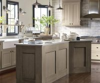 Taupe Kitchen Cabinets - Decora Cabinetry