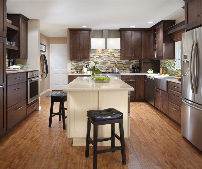 Contemporary Kitchen Cabinets  Decora Cabinetry