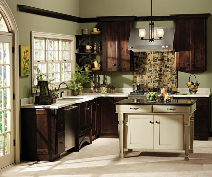 shaker style kitchen commercial floor coverings cabinets decora cabinetry by