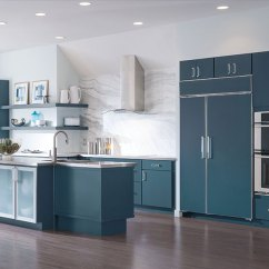 Kitchen Cabinets Com Whisk Blue Painted Decora Cabinetry By