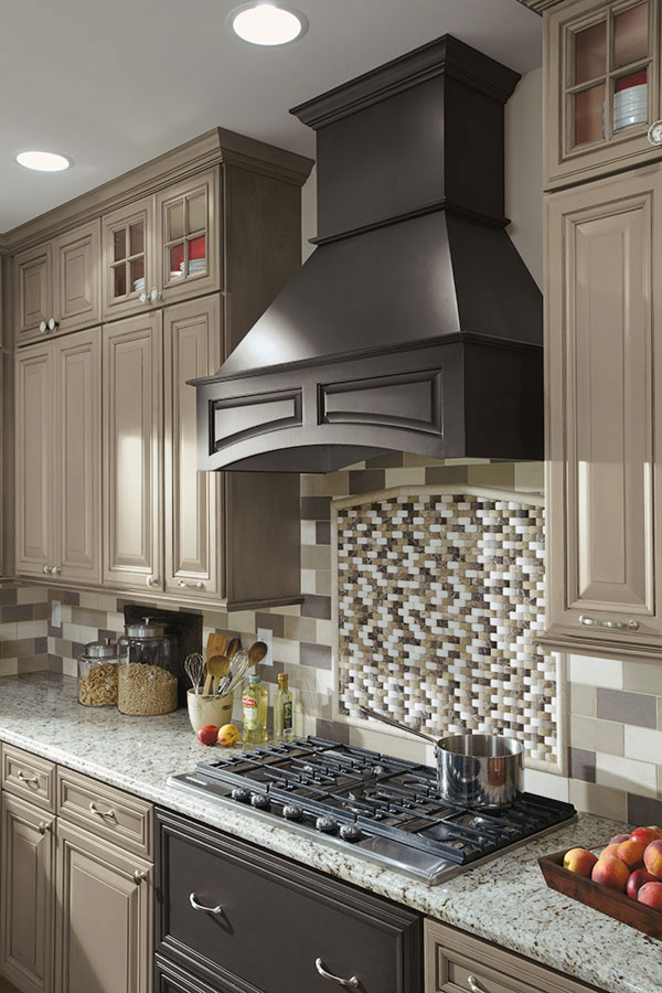 how to make kitchen cabinets appliance garage kits arched wood hood - decora cabinetry