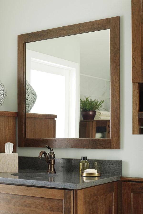 Bath Framed Wall Mirror  Decora Cabinetry