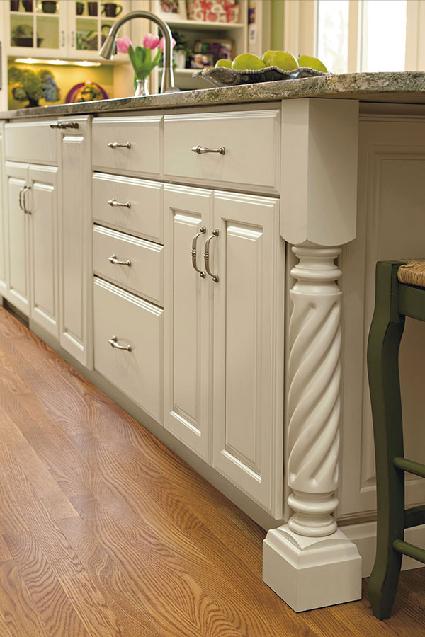 install kitchen island sturdy chairs rope leg - decora cabinetry