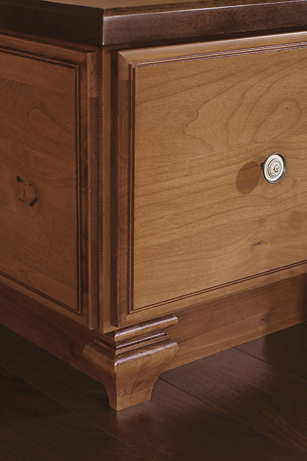 Toekick Tulip Cabinet Foot  Decora Cabinetry