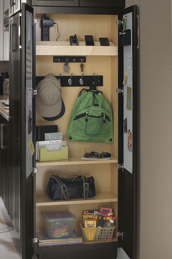 Utility Cabinet With Drop Zone Decora Cabinetry