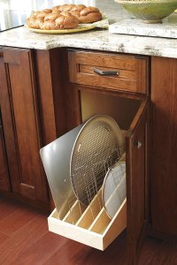 Pull Out Tray Divider - Decora Cabinetry
