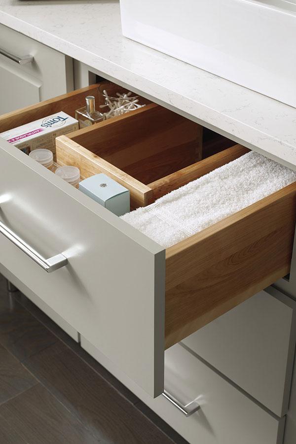 Vanity U Shaped Drawer  Decora Cabinetry